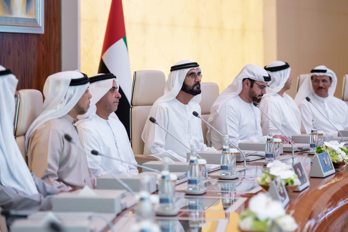 حاكم دبى يترأس اجتماع مجلس وزراء دولة الإمارات
