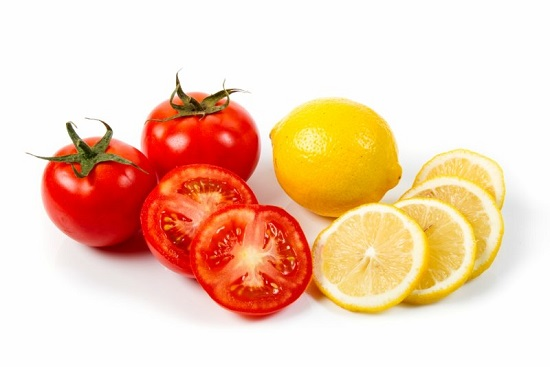 وصفات طبيعية ـ الطماطم والليمون