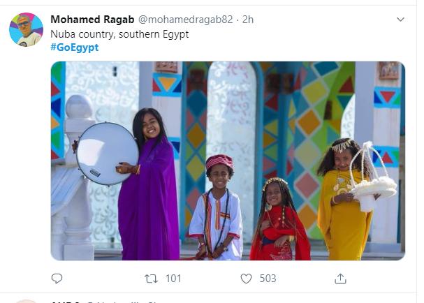 هاشتاج GoEgypt يتصدر تويتر  (2)