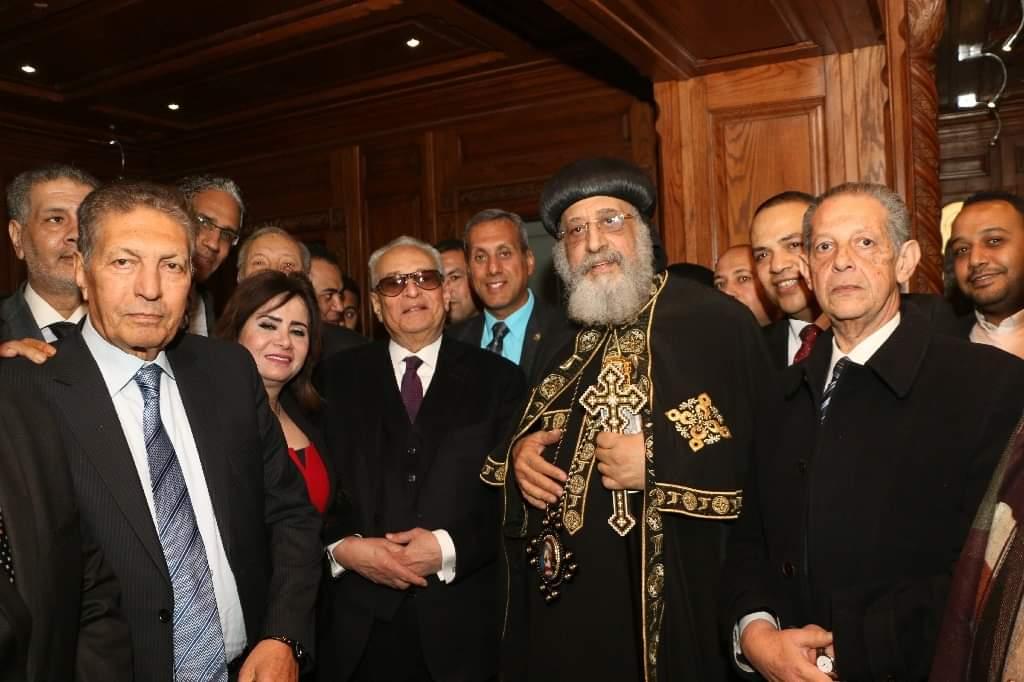 رئيس حزب الوفد يهنىء البابا تواضروس