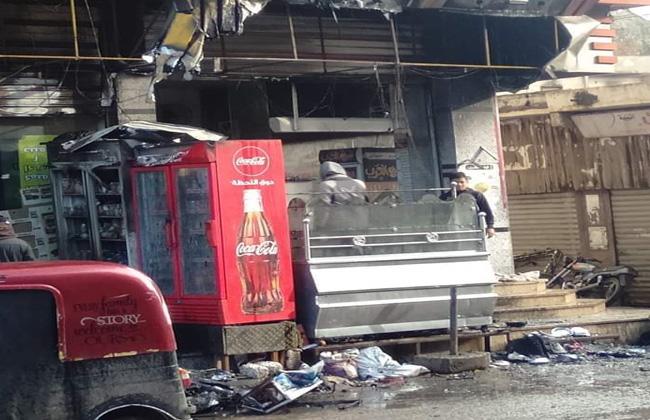 المحلات المحترقة بسبب سوء الاحوال الجوية  (3)