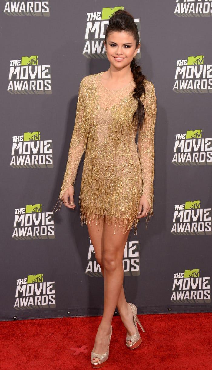 سيلينا جوميز في حفل توزيع جوائز MTV Movie 2013