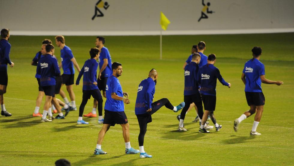 تدريبات برشلونة (1)