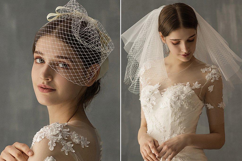 إزاى تختارى طرحة فرحك مناسبة لشكل الفستان وقماشته والمكياج صور اليوم السابع