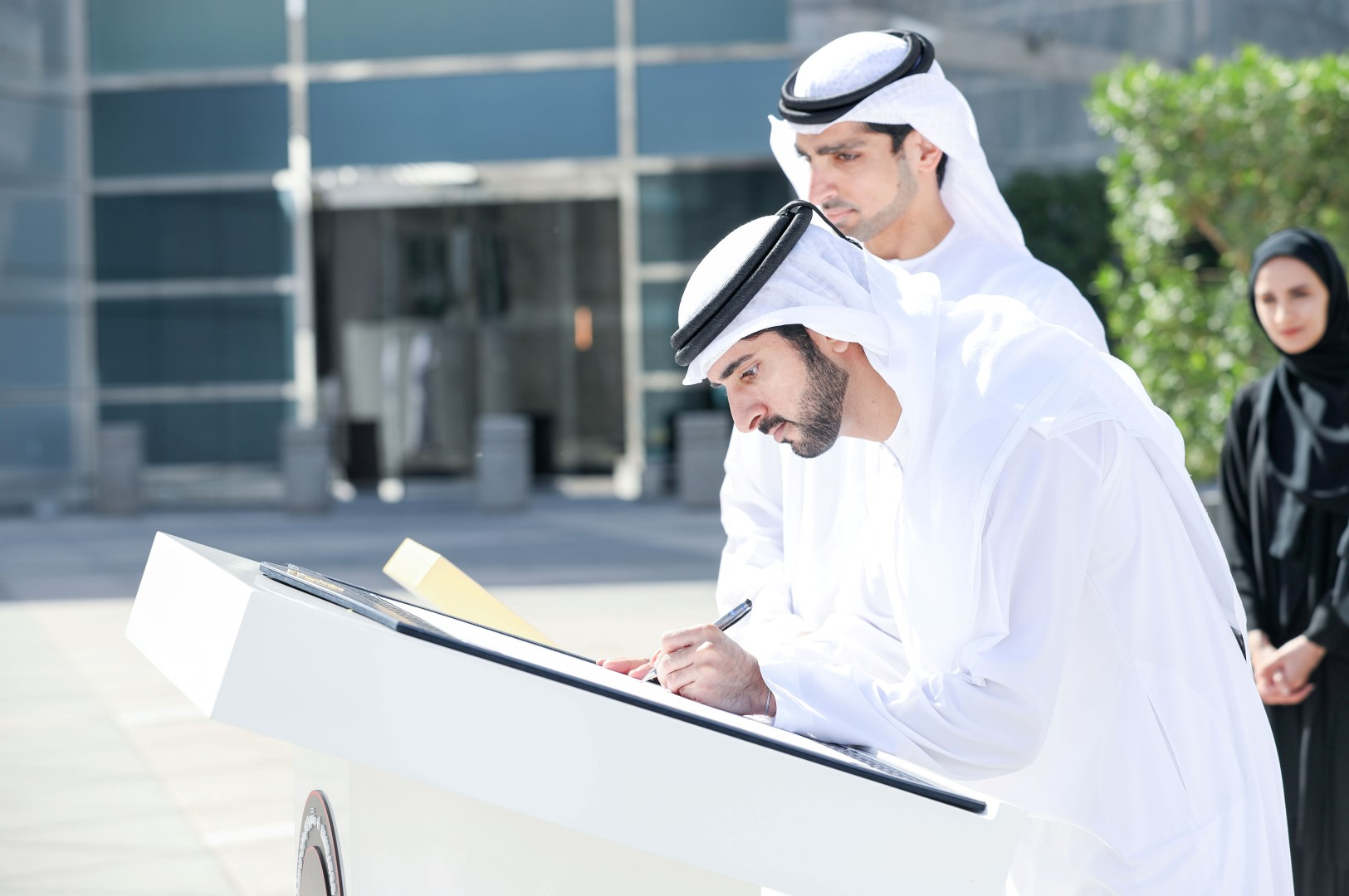 الشيخ حمدان بن محمد بن راشد آل مكتوم ولى عهد دبى