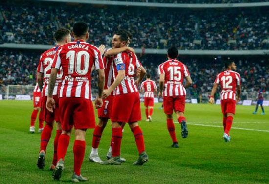 فرحة-نجوم-اتلتيكو-مدريد