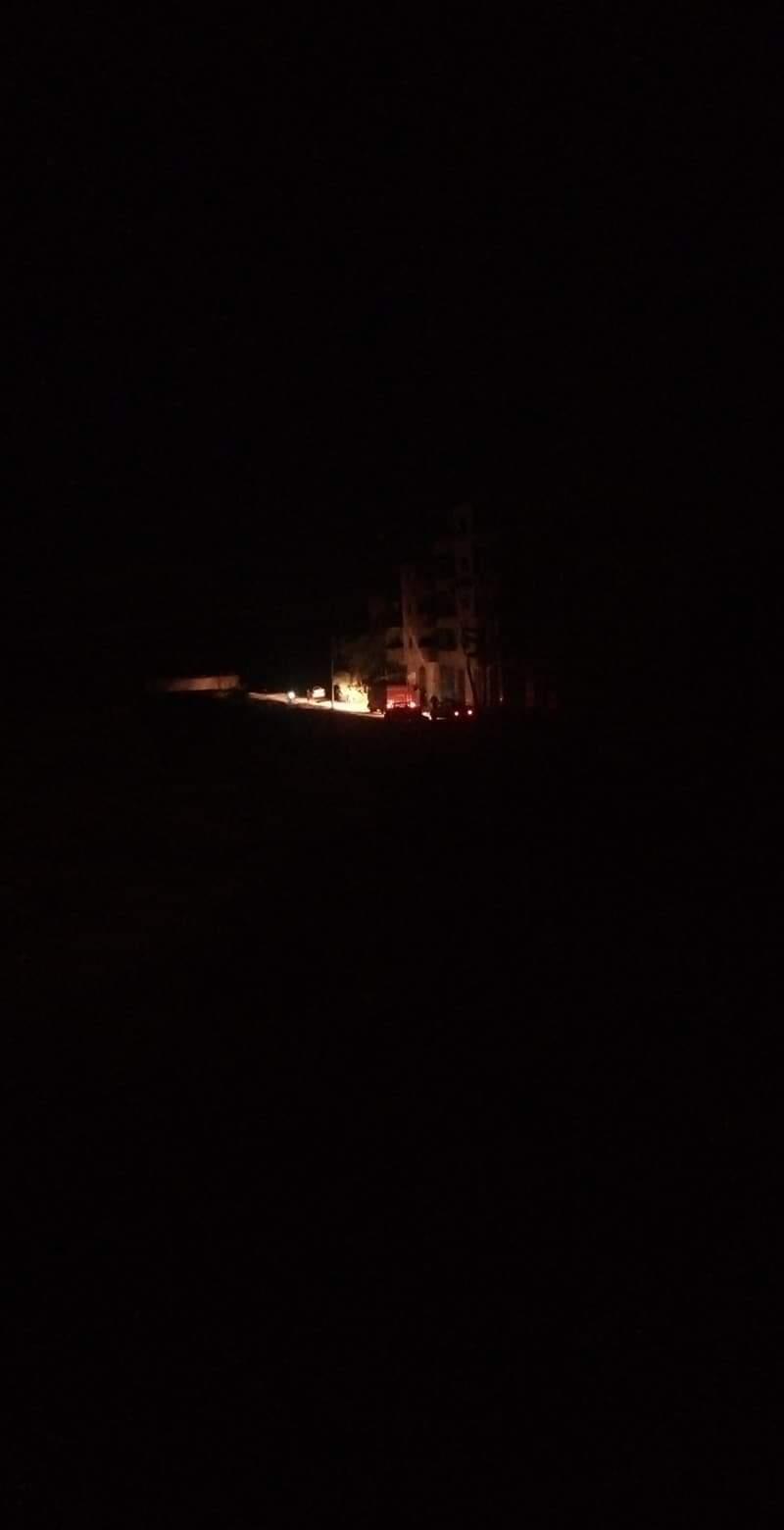 سيارة الإسعاف فى طريقها لموقع الحادث (4)