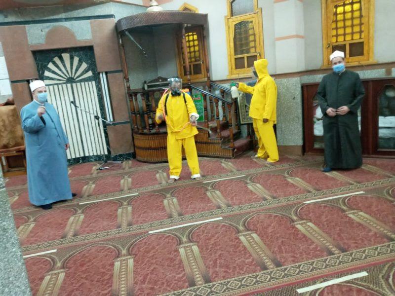المساجد تستعد لصلاة الجمعة