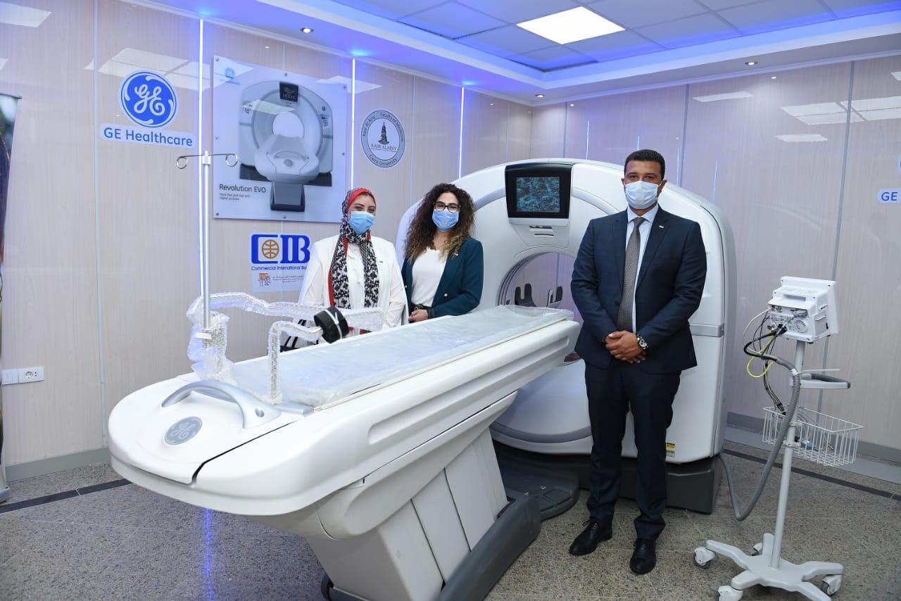 وحدة الأشعة المقطعية بأحدث الأجهزة المتطورة