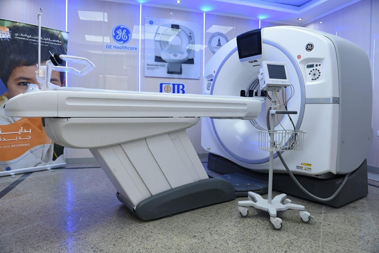 أحدث جهاز أشعة مقطعية 128 مقطع