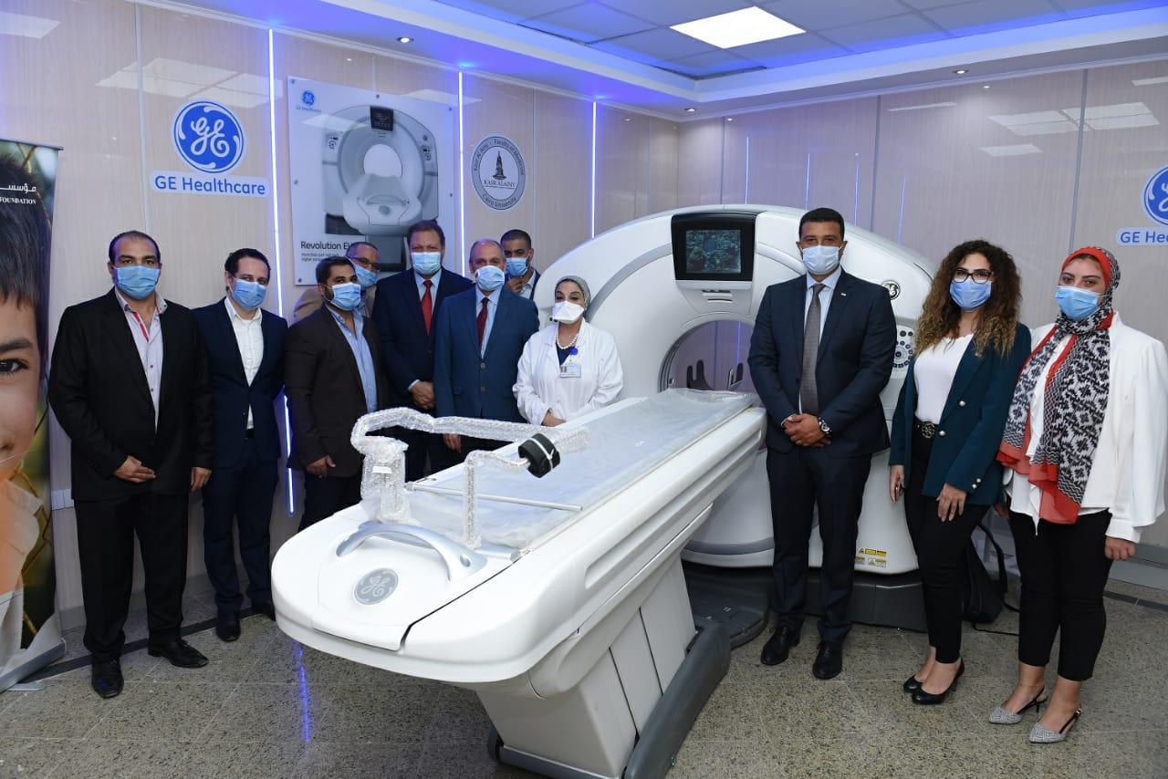 وحدة الأشعة المقطعية بجامعة القاهرة