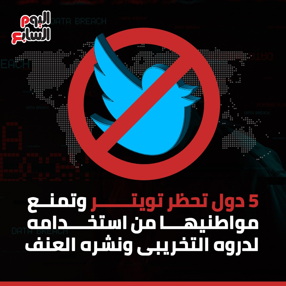 5 دول تحظر تويتر