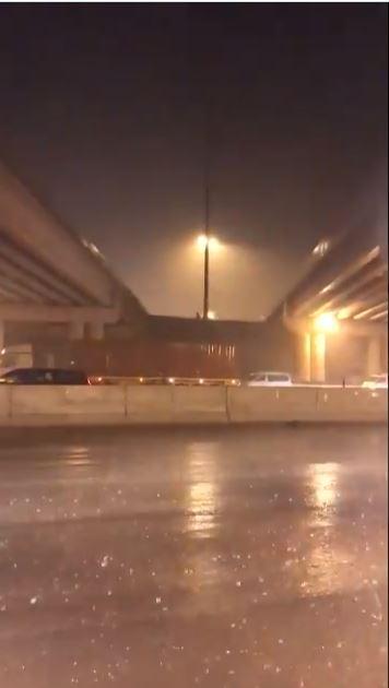 أمطار غزيرة بالسعودية