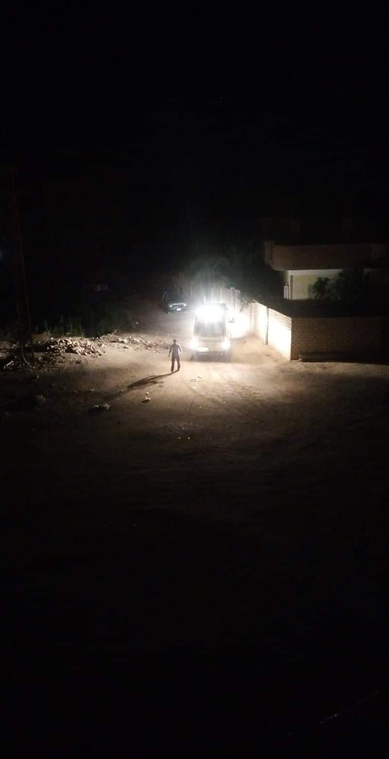 سيارة الإسعاف فى طريقها لموقع الحادث (3)