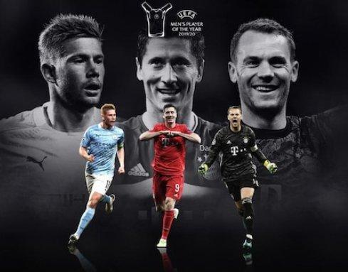المرشحين للفوز بجائزة أفضل فى أوروبا 2020