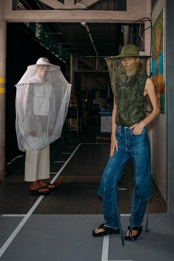 كواليس عرض أزياء Kenzo (2)