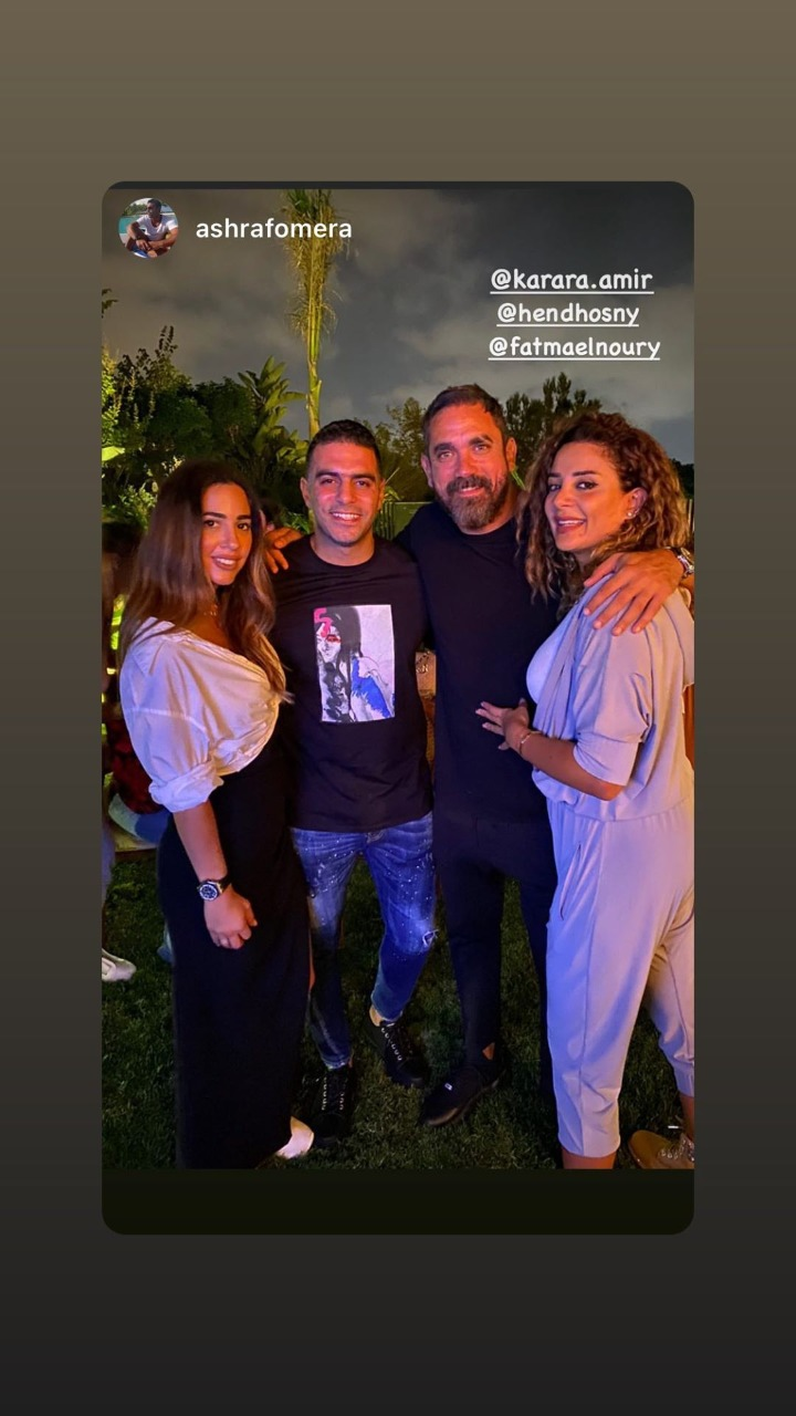 أمير كرارة يحتفل بعيد ميلاده مع أسرته وأصدقائه (1)