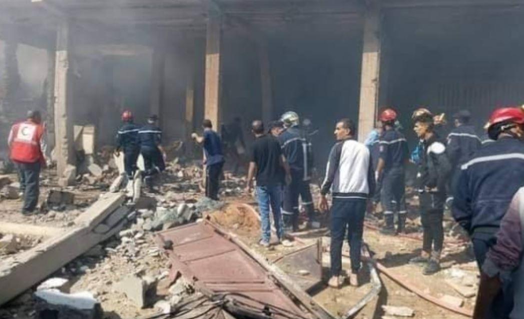 انفجار في الجزائر