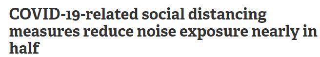 الضوضاء وكورونا