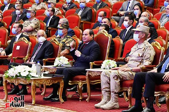 الرئيس السيسى خلال الندوة التثقيفية للقوات المسلحة
