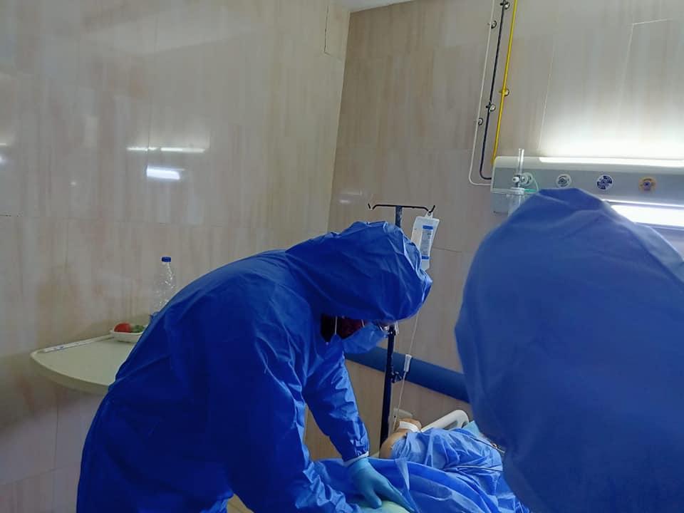 أثناء العملية الجراحية