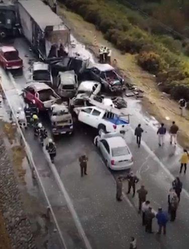 حادث فى تشيلى