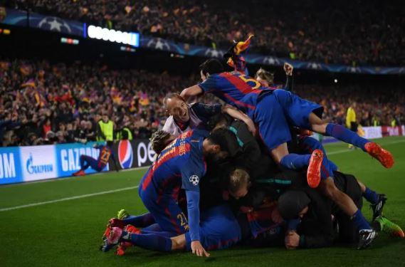 برشلونة خلال الريمونتادا التاريخية ضد سان جيرمان