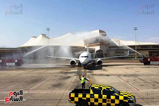 مطار شرم الشيخ الدولى يستقبل رحلة قادمة من بولندا (7)