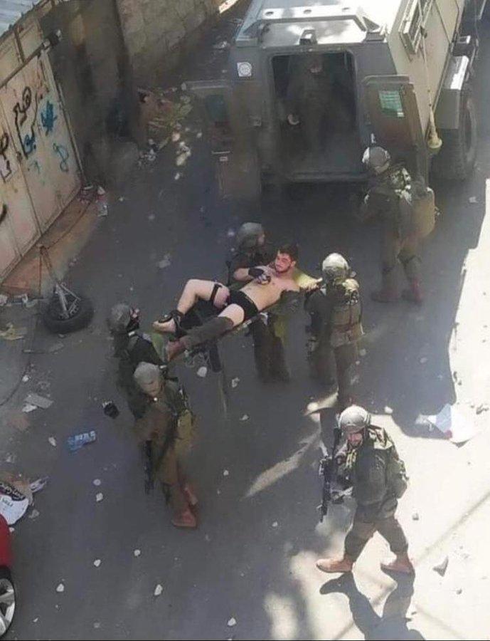 اصابة جندى اسرائيلى