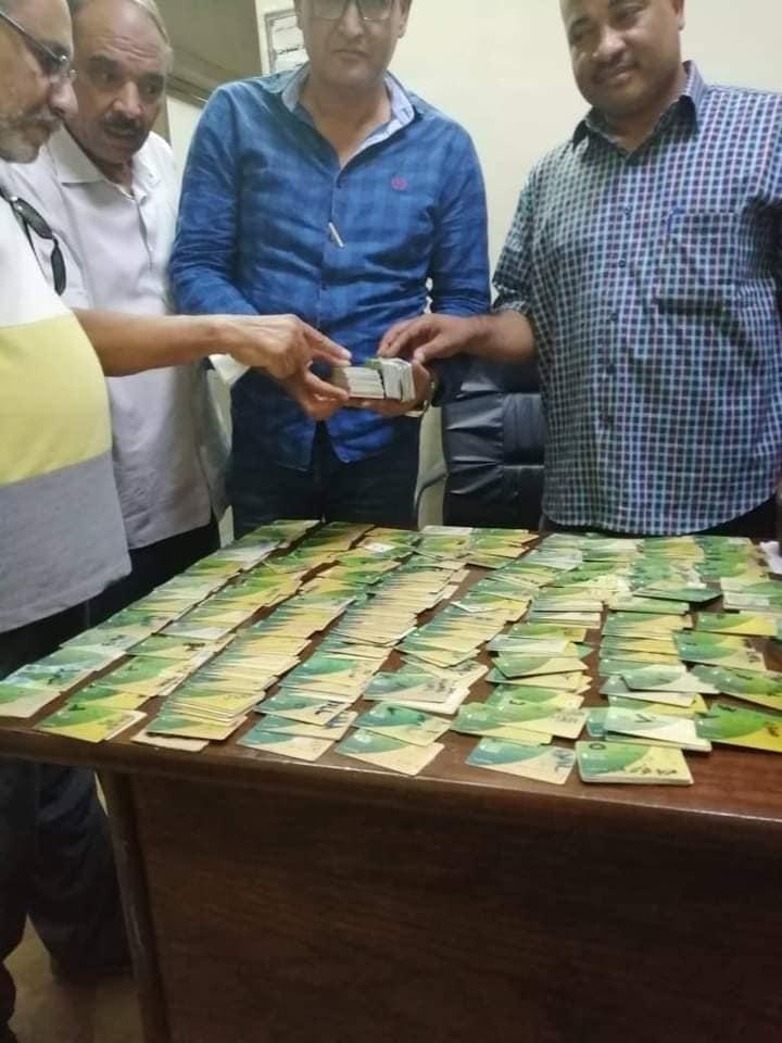 تموين الأقصر تضبط 427 بطاقة تموينية فى مخبز بلدى مدعم  (3)