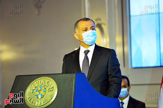 المستشار خالد عتريس نائب رئيس المجلس