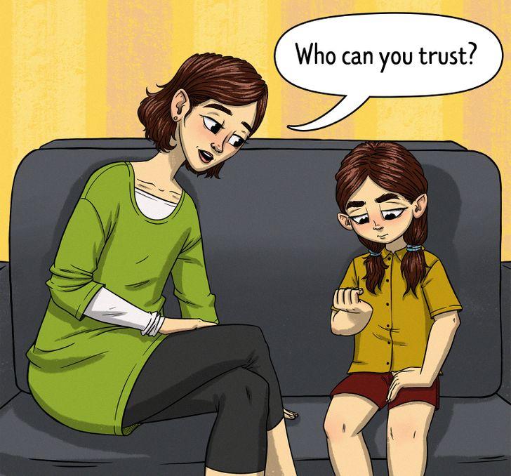 الأشخاص الذى يمكن الثقة بهم