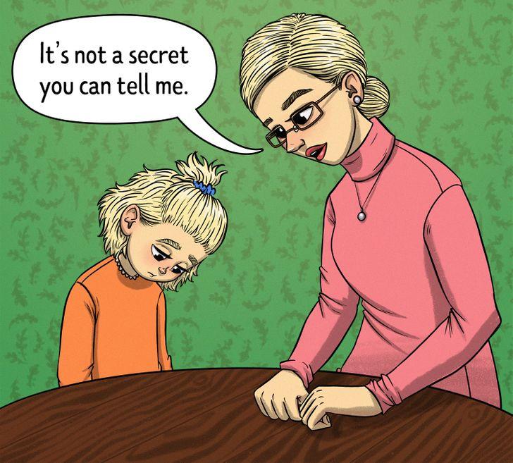 ليس سرا يمكنه كتمانه