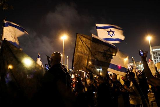 تجدد التظاهرات ضد نتنياهو