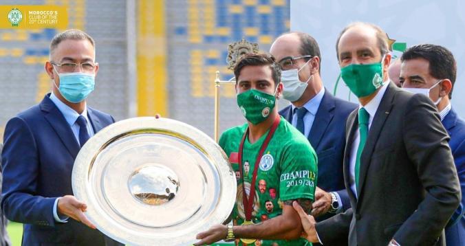 تسليم الدوري المغربي