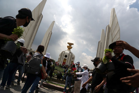 احتجاجات فى تايلاند للمطالبة بالإصلاح