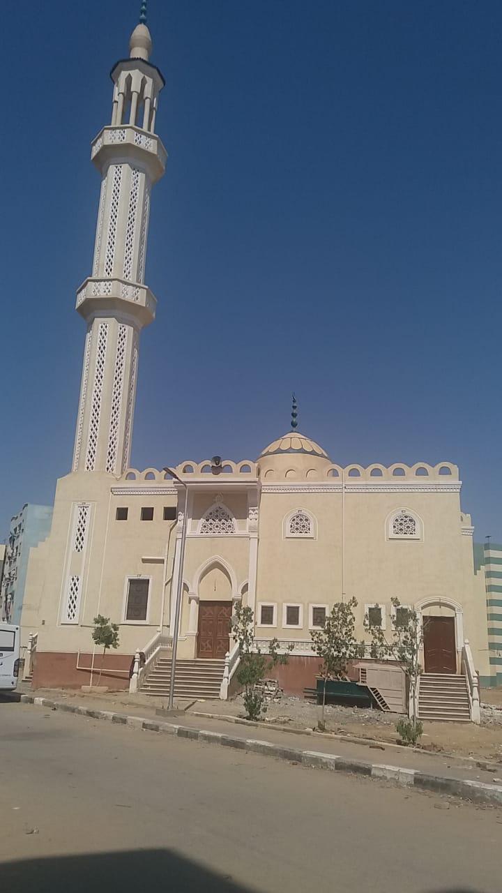 مسجد الدكتور أيمن هلال – العبور – حي الأربعين