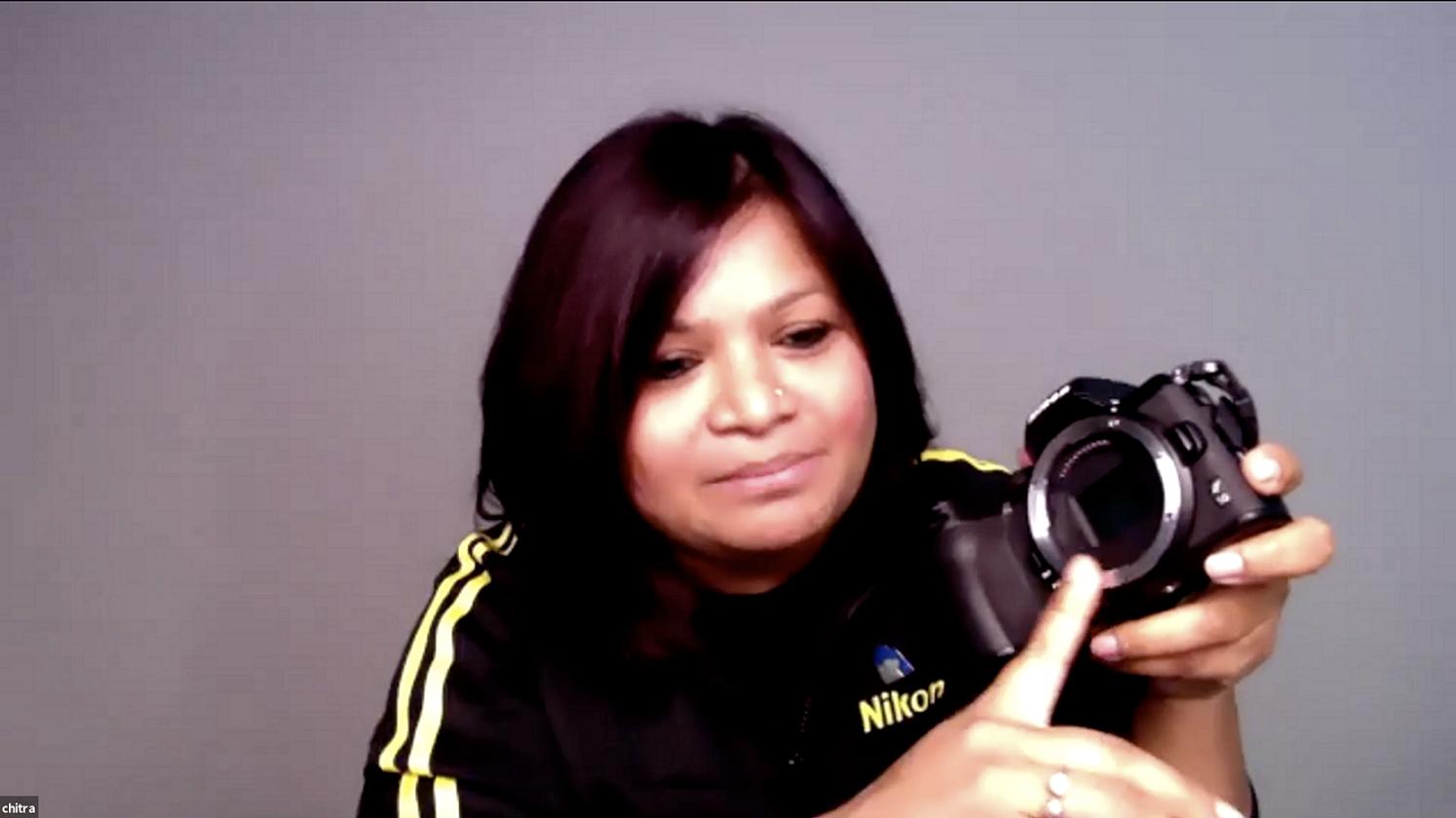 خلال ورشة أساسيات التصوير الفوتوغرافي (2)