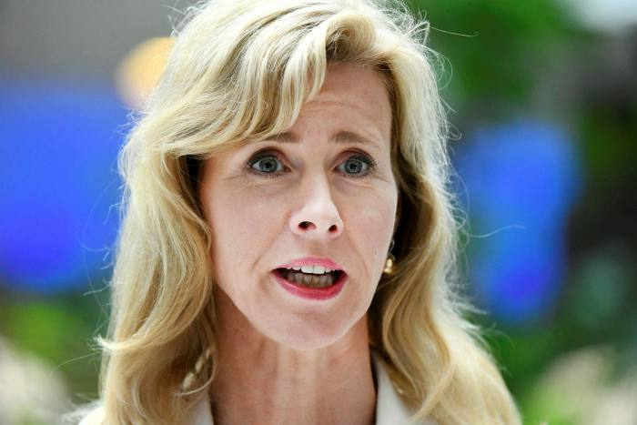 وزيرة الشئون الرقمية الهولندية