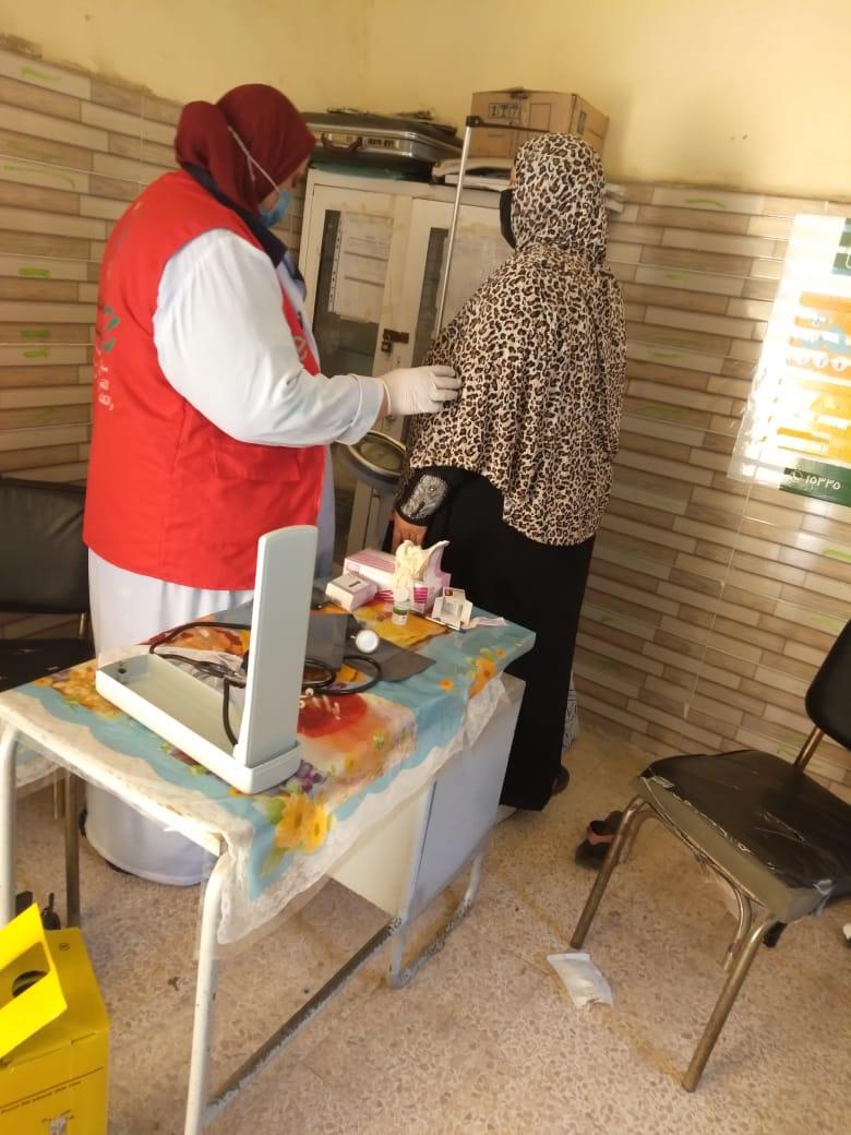 1.3 مليون سيدة بالشرقية يستفيدن من مبادرة دعم صحة المرأة (2)