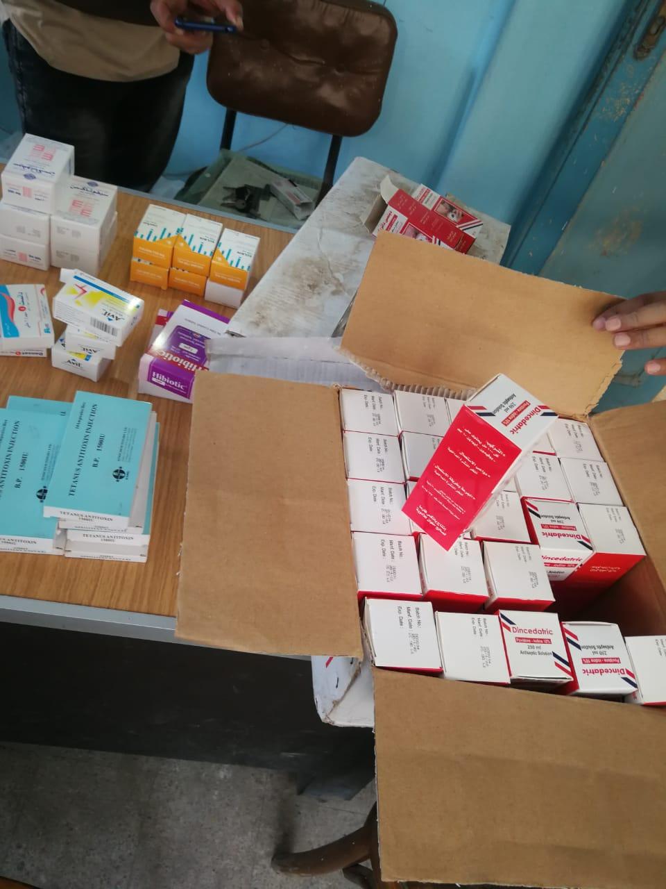 غلق 25 منشأة غذائية غير مرخصة والتحفظ على 474 عبوة دواء مخالفة بالشرقية (5)