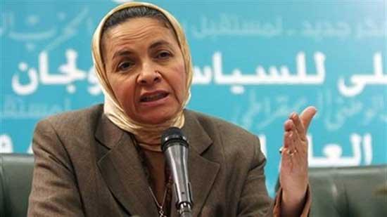 الدكتورة يمن الحماقى أستاذ الاقتصاد بجامعة عين شمس