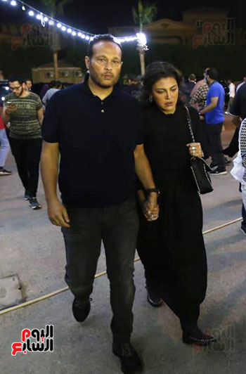 ريهام حجاج ورجل الاعمال محمد حلاوة (1)
