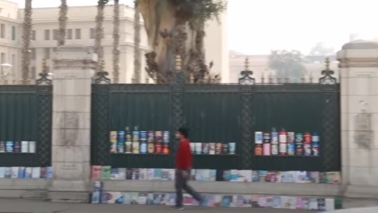 سور جامعة القاهرة