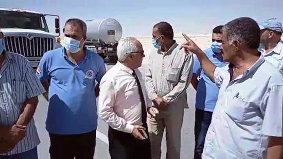 خطة لمواجهة خطر السيول بشمال سيناء (6)