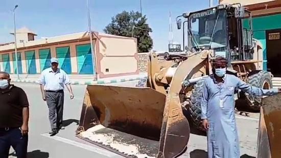 خطة لمواجهة خطر السيول بشمال سيناء (2)
