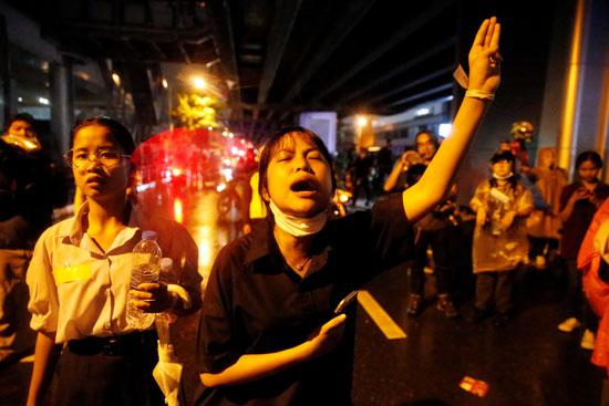 مظاهرات تايلاند (5)