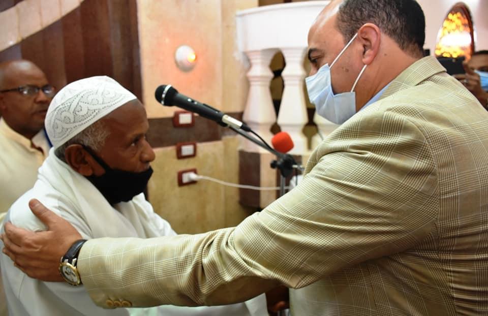 محافظ أسوان يفتتح مسجد نوح  (4)