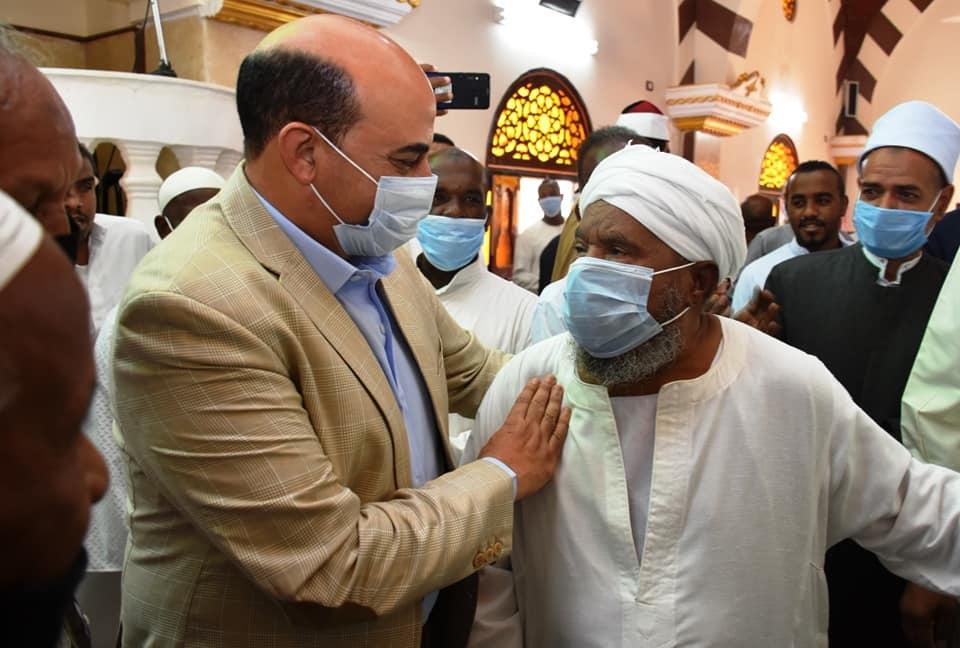 محافظ أسوان يفتتح مسجد نوح  (5)
