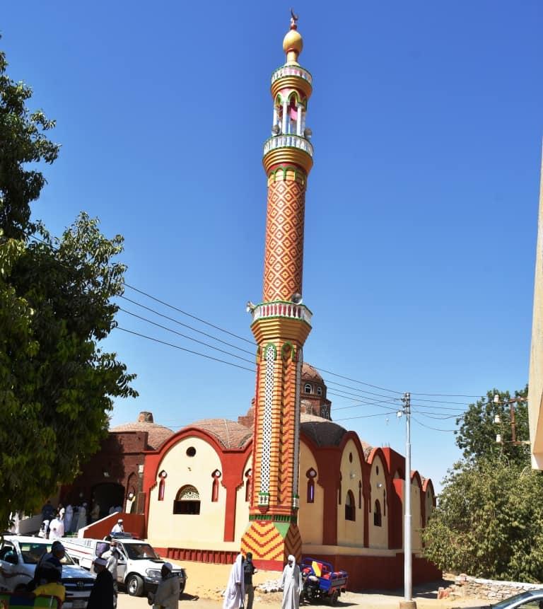 محافظ أسوان يفتتح مسجد نوح  (6)